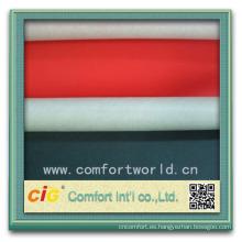 Forme el nuevo diseño bastante ningbo el poliéster tapicería de cuero sintética de la tela
