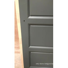 Smooth Finish Solid Wood Interior Plantation single leaf wooden door