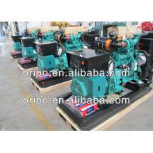 open type 30kva diesel generator price with cummins engine