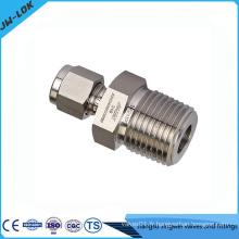 Connecteur double tube de compression de ferrule