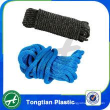 Corde d'ancrage de corde en nylon double corde tressée de polyester pour l'utilisation de bateau