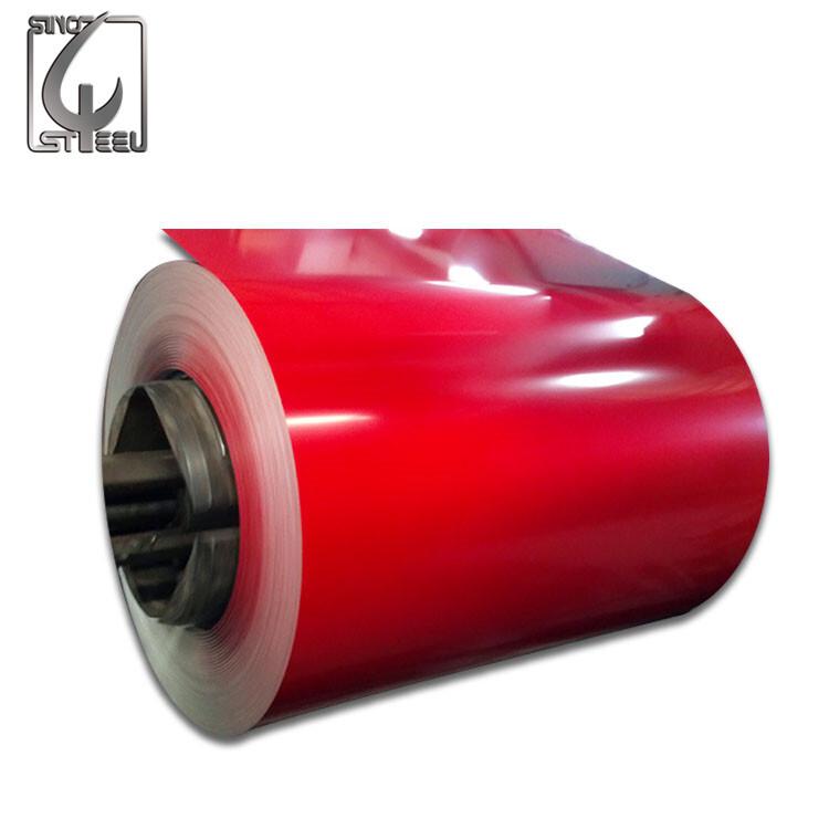 High Quality 20/7um 0.45mm Prepainted Galvanized PPGI Steel Coil