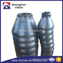 Raccords de tuyauterie types tuyaux en acier réducteur