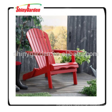 Portable Foldable Red Adirondack Chair