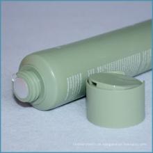 Kosmetisches Plastikrohr 100ml mit Disc-Kappe