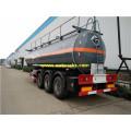 Tri-axle 28 CBM Acido clorhídrico Transport Trailers