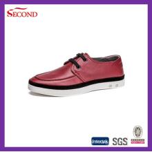 Chaussures en cuir trois couleurs