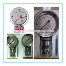Öl Brunnen Bohrung Schlamm Pumpe Schock-beständige Manometer