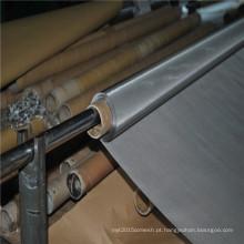 Malha de impressão em tela de aço inoxidável 304L