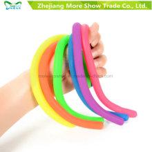 TPR Stretchy String Sensory Fidget Toys Autismo Stress Therapy para niños adultos
