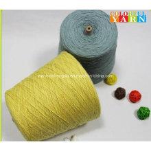 100% Slub Cotton Yarn for Scarf and Socks
