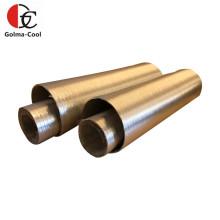 Duto de ar HVAC Duto flexível de alumínio puro semi-rígido