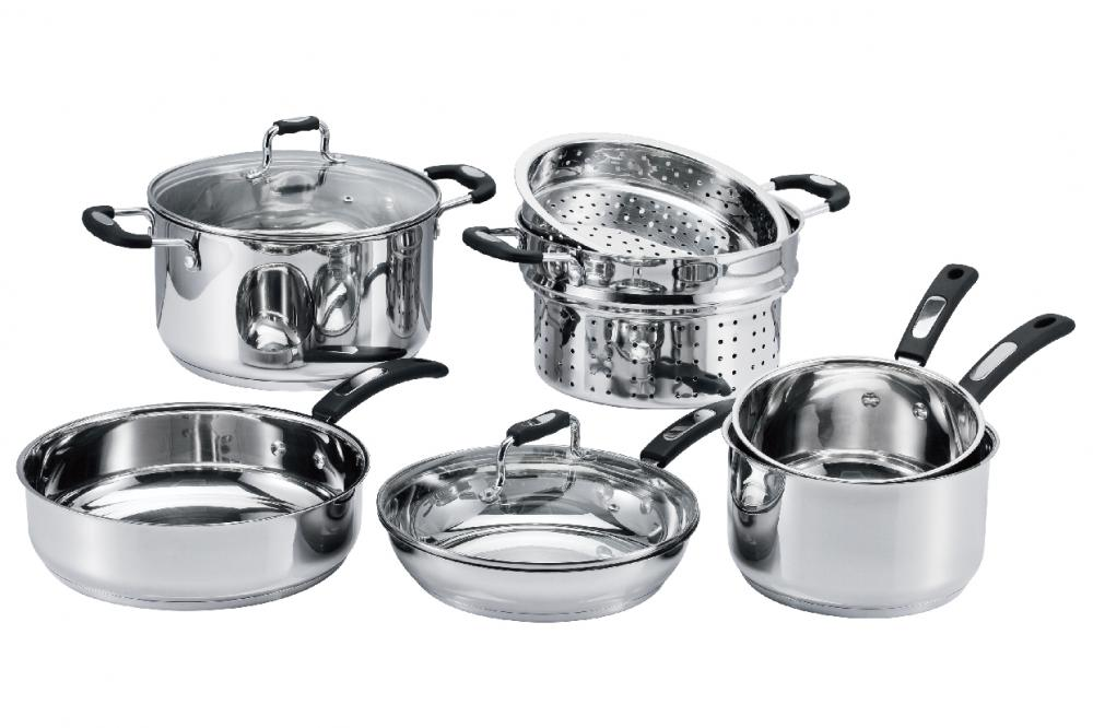 Cookware Set with Milk Pot