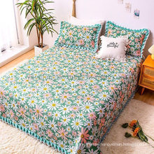 Luxury Hotel Bedspread Patchwork Single Bed Soft for All Season