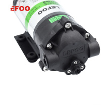 LEFOO Manufacturer 200 GPD Diaphragm Booster Pump 24V for Reverse Osmosis Water Purifier