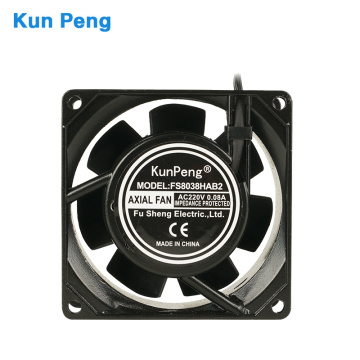 2inch 80mm waterproof ip54 axial flow fans