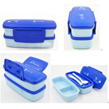 plastic lunch box, lunch box with lock, 3 compartment lunch box