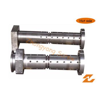 Шнек холодной подачи и цилиндр для экструдера для резины