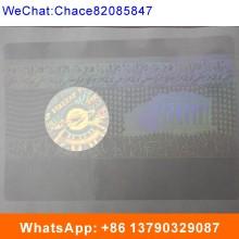 Anti-Fake Security Passport ID Overlay Hologram