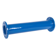 Ductile iron flanged pipe fittings