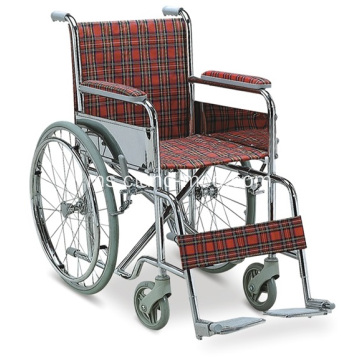 Standard Ekonomi Kanak-kanak Medical Steel Wheelchair