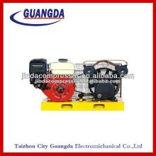 Panel petrol air compressor
