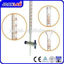 JOAN Micro Burette 10ml Com PTFE Straight Stopcock