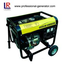 Gerador de gasolina portátil de 6kw para uso de emergência
