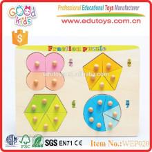 La plus populaire d'apprentissage précoce jouets en bois de puzzle pour bébé
