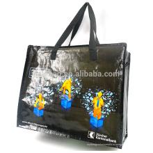 PP сплетенные дешевые багажные сумки дорожная сумка