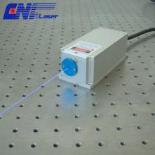 Laser DPSS de petite taille 400mw 473nm pour la mesure