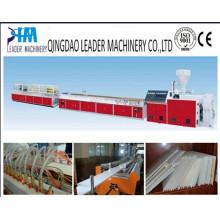 Linha de produção de alta qualidade do painel de parede do PVC do plástico / que faz a máquina