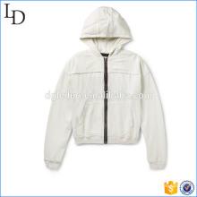 Sudadera con capucha de Jersey and Twill streetwear sudadera con capucha de 400gsm para el fabricante de hombres en China