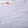 Luxury hotel White removable waterproof bed mattress protector cover skid resistance
