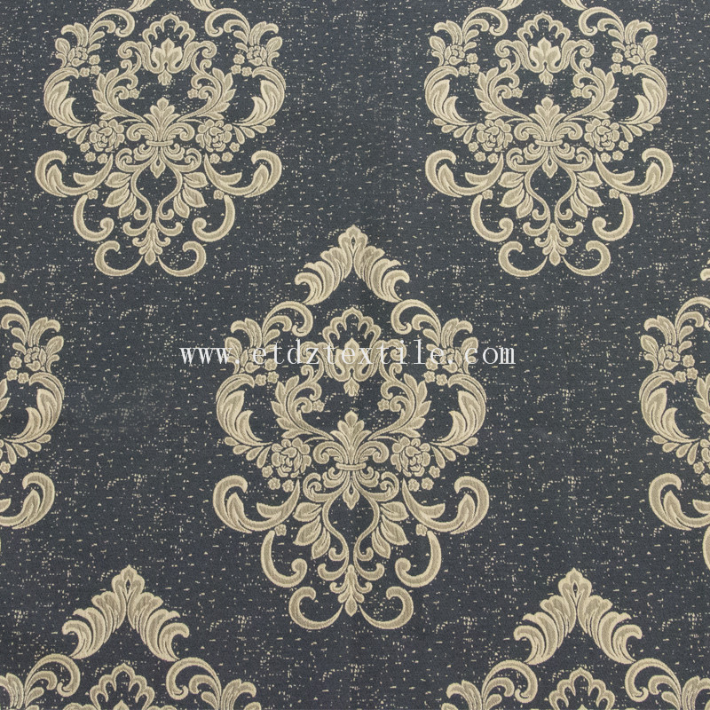Palace flower curtain fabric FR3058