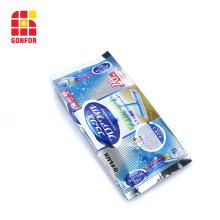 Custom Printed Side Gusset Bag For Wet Tissue