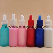 5ml-100ml Эфирное масло Стеклянные бутылки с различным цветом
