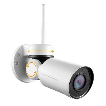 Balle extérieure d'appareil-photo de PTZ de Wifi de taille de petite taille avec le service de nuage de fonction de P2P