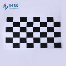 Digital Printing Logo Polyester Checkered Race Flag