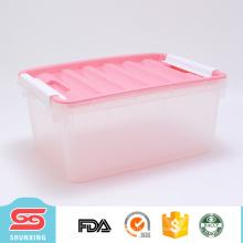 china fábrica fácil diversos caixas de armazenamento de plástico barato com alta qualidade