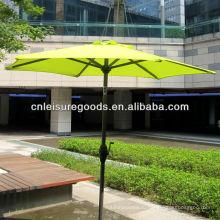 качество дешевые открытый патио зонтик металла