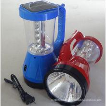 Luz solar de la lámpara de la linterna que acampa LED de la fábrica ISO9001