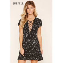 Wyldr Lace-up Minikleid