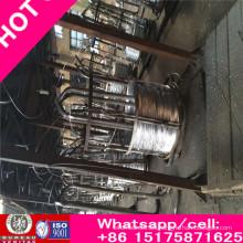 Alambre de acero galvanizado de 3.05 mm para ACSR / Alambre de acero revestido del cinc / Acero extensible del alto carbono /
