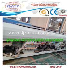 Maquinaria de extrusión de material de tubos de PE reciclada
