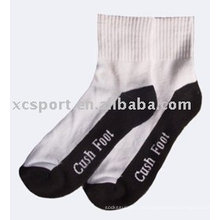 Calcetines de algodón jacquard para hombre