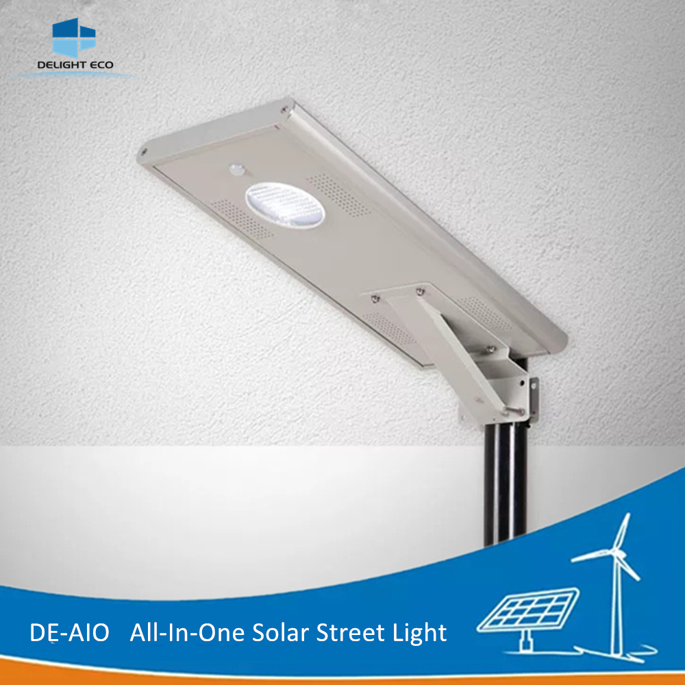 DELIGHT DE-AIO 50W Integrated Motion Sensor Street Light