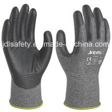 18 калибровочных защитные перчатки с Пу (K8081-18)