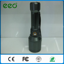 Rechargeable long distance green laser flashlight torches with led flashlight with laser pointer