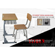 used whole set desk and chair for school students